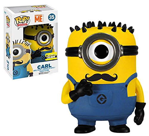 Funko POP Movies Despicable Me: Carl Vinyl Figure Mustache - 1