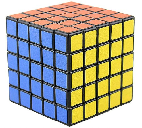 New Shengshou 5x5x5 Speed Ultra-smooth Magic Cube Puzzle Twist 5x5 Black - 1