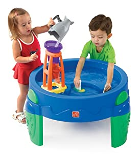 The Step2 Company Waterwheel Play Table
