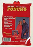 Rain Poncho - Poncho Adult From Chaby International (Part Number 3100)
