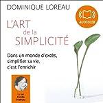 L'art de la simplicité | Dominique Loreau