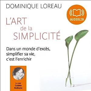 L'art de la simplicité | Livre audio