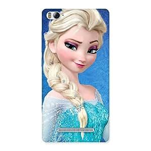 Enticing Winked Princess Freez Multicolor Back Case Cover for Xiaomi Mi4i