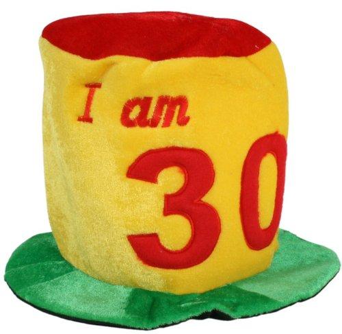 I Am 30 Funny Birthday Party Hat 30th Birthday