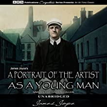 A Portrait of the Artist as a Young Man Audiobook by James Joyce Narrated by David McCallion