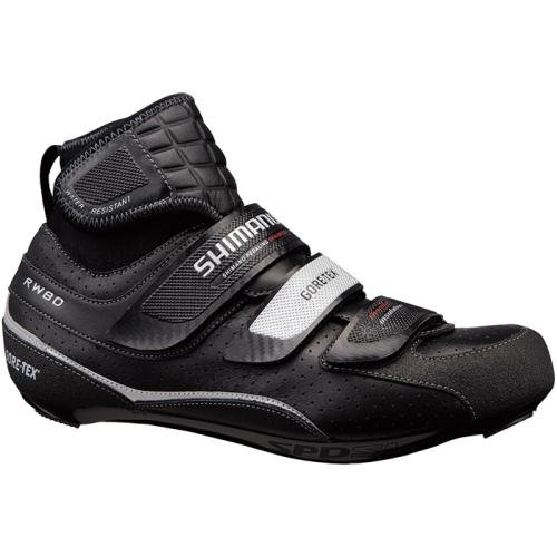 Shimano RW80 Goretex Waterproof SPD SL Shoes Black