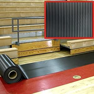 6-Foot Wide Basketball Court Pull Mop by Athletic Connection
