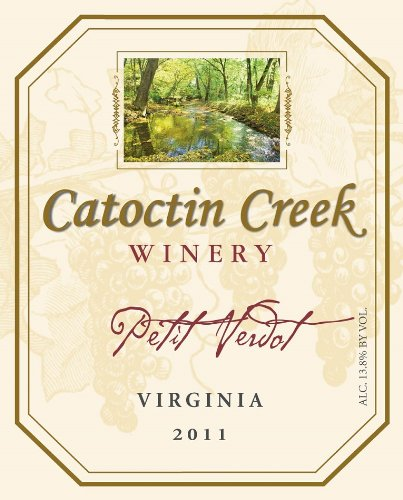 2011 Catoctin Creek Petit Verdot Virginia 750 Ml