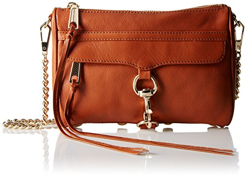 Rebecca Minkoff Mini Mac Convertible Cross Body Bag, Almond, One Size