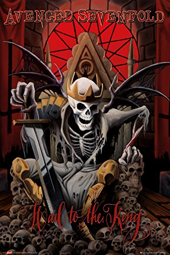 GB eye LTD, Avenged Sevenfold, Hail to the King, Maxi Poster, 61 x 91,5 cm