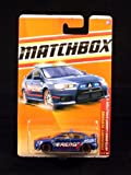 MITSUBISHI LANCER EVOLUTION X * BLUE * Emergency Response Series (#9 of 11) MATCHBOX 2011 Basic Die-Cast Vehicle (#57 of 100)
