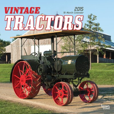 (12X12) Vintage Tractors - 2015 Calendar