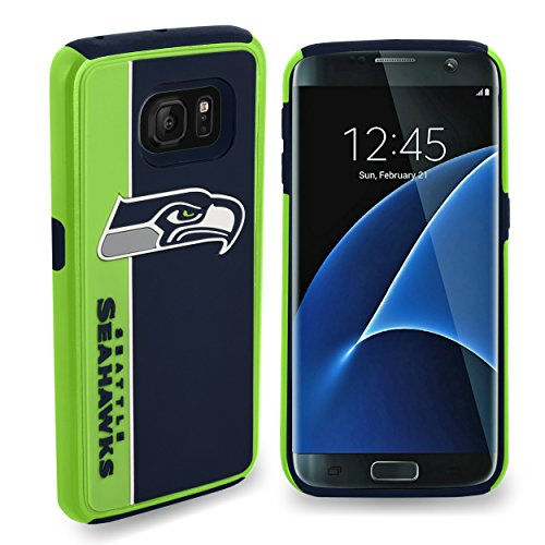 Forever-Collectibles-Dual-Hybrid-BOLD-Series-Case-for-Samsung-Galaxy-S7-Edge-NFL-Seattle-Seahawks