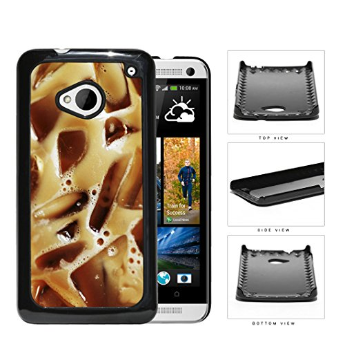Iced Coffee Drink Caffeine Hard Plastic Snap On Cell Phone Case Htc One M7