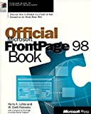 img - for Official Microsoft FrontPage 98 Book book / textbook / text book