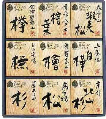 五洲薬品 森のいぶき(薬用入浴剤) HMIー30