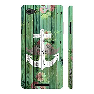 Micromax Canvas Hue 2 A316 Achor Art designer mobile hard shell case by Enthopia