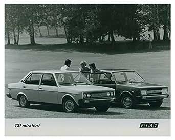 Amazon.com: 1974 Fiat 131 Mirafiori Automobile Factory