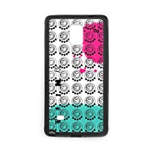 buy Personalized Note 4 Hard Tpu Rubber Phone Case Compatible For Samsung Galaxy Note 4 Iv - Blink 182 Band (Design A676)