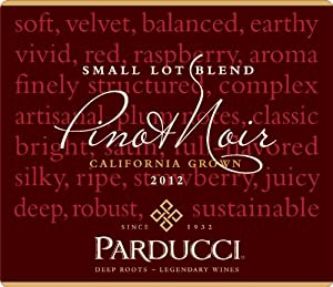 2012 Parducci Small Lot Blend Pinot Noir Mendocino County 750 mL