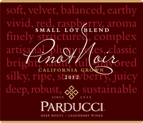 Parducci 2012  Small Lot Blend Pinot Noir Mendocino County 750 mL