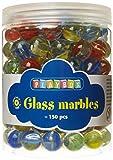 Playbox - Mármoles de cristal - colores mezclados, 16 mm (1 Kg) - (PBX2471163)