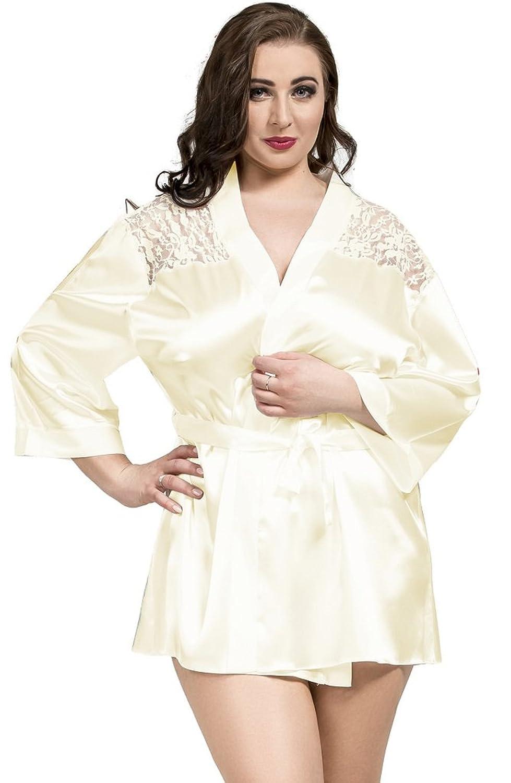 Nine X -Damen Kimono Negligee Spitze S – 6XL 36 – 50 jetzt bestellen