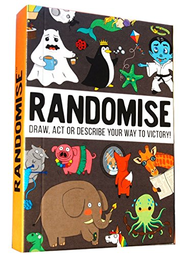Randomise Game: Draw, act or describe your way to victory