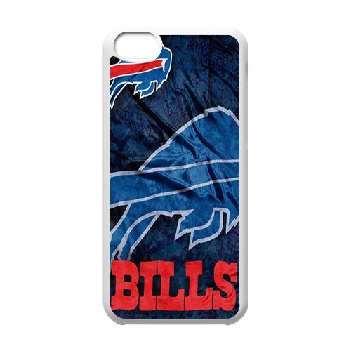 Generic Cell Phone Cases Cover For Apple Iphone 5C Case Forever Rugby Sports Team Collectibles Buffalo Bills Rugged Dual Hybrid Shell front-203177
