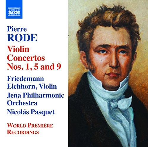 CD : RODE / EICHHORN / PASQUET / JENA PHILHARMONIC - Violin Cons 1 5 & 9