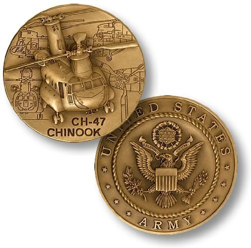 CH-47 Chinook Challenge Coin - 1
