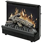 Dimplex Electraflame Electric Fireplace Heater Insert In Black Finish from Dimplex