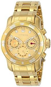 Invicta 15036 - Reloj de pulsera mujer, color dorado