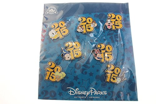 Disney Parks - 2015 Dated 7 Pin Booster Set