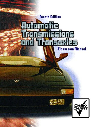Automatic Transmission and Transaxle Set: Classroom...