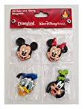 Disney Parks Magnet Set - Mickey Minnie Mouse Goofy Donald Duck