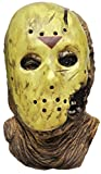 Jason Voorhees Hockey Scary Horror Latex Adult Halloween Costume Mask