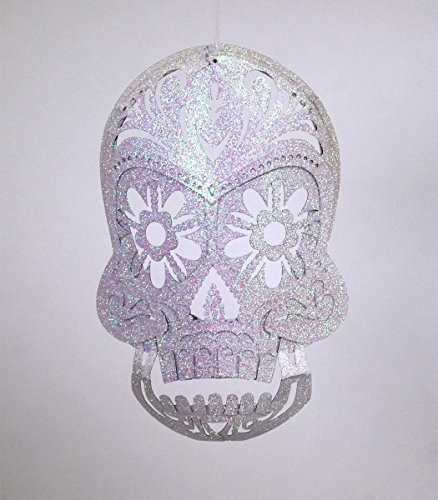 KATHERINE'S COLLECTION Halloween Day of the Dead Skull Decoration