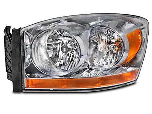 Dodge Ram 1500 2500 3500 Pickup Headlight Headlamp Driver Side New (2006 Dodge 2500 Headlight Cover compare prices)