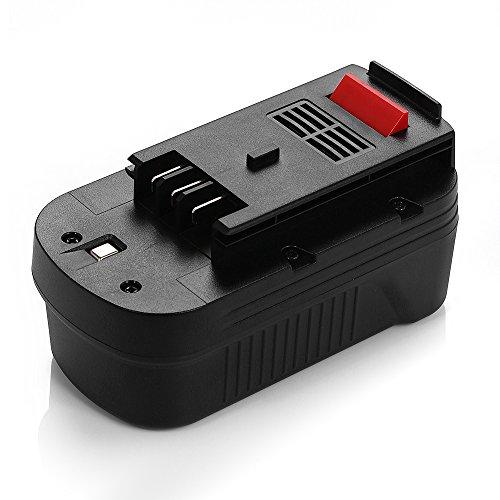 18V 1500Mah Replacement Battery For Black & Decker 244760-00 A1718 A18 Firestorm A18 Fs180Bx front-314956