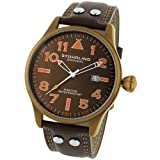Baume & Mercier Watches:Stuhrling Original 141.3365K59 Men's Eagle Swiss Quartz Date Watch