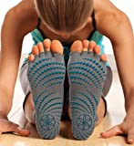 GAIAM Toeless Grippy Yoga Socks Toesocks