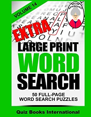 Extra Large Print Word Search Volume 14