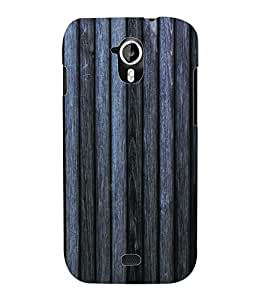 Fuson 3D Printed Wood Pattern Designer Back Case Cover for Micromax Canvas HD A116 - D595