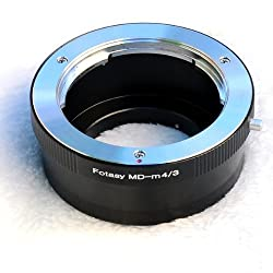 Fotasy AMMD Minolta MD MC Mount Lens to Micro Four Thirds System Camera Mount Adapter