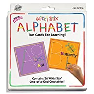 Wikki Stix Alphabet Fun Cards for Lea…