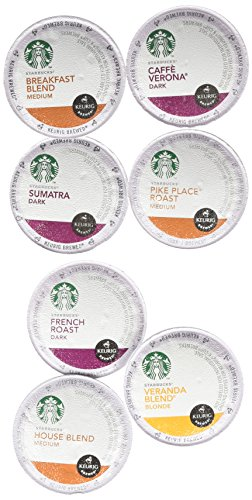 20 Count Variety (Pack of 2) 40 total, Starbucks Coffee Single Cups for Keurig Brewer Super Pack (Keurig Pods Starbucks Coffee compare prices)