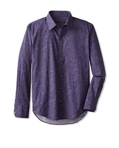 Zachary Prell Men's Beggs Patterned Long Sleeve Shirt