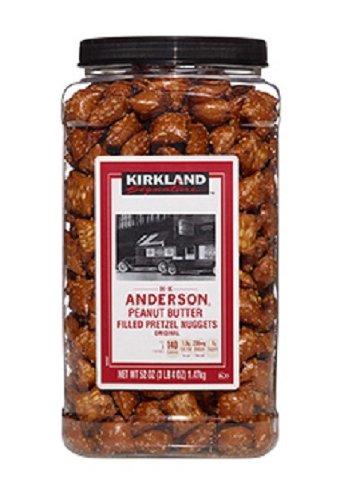 ... Anderson Valencia Peanut Butter Filled Pretzel Nuggets: 52 Oz - Cos9