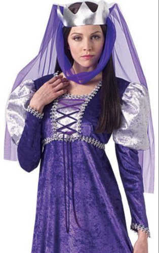 Renaissance Queen Adult Costume 8-12 Adult Womens Costume